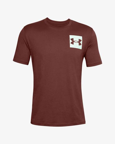Červené tričko under armour