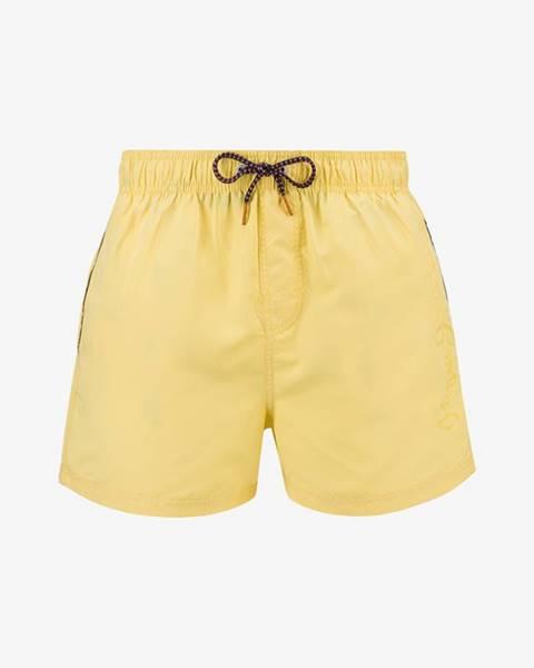 Žluté plavky pepe jeans