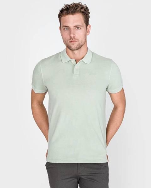 Zelené tričko pepe jeans