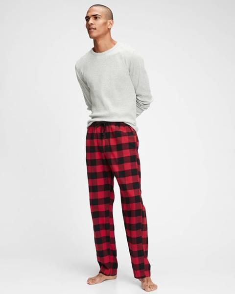 Černá červené kalhoty GAP