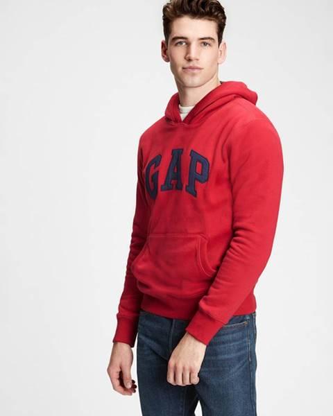 Červená mikina GAP