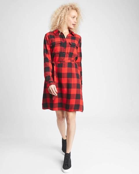 Červená sukně GAP