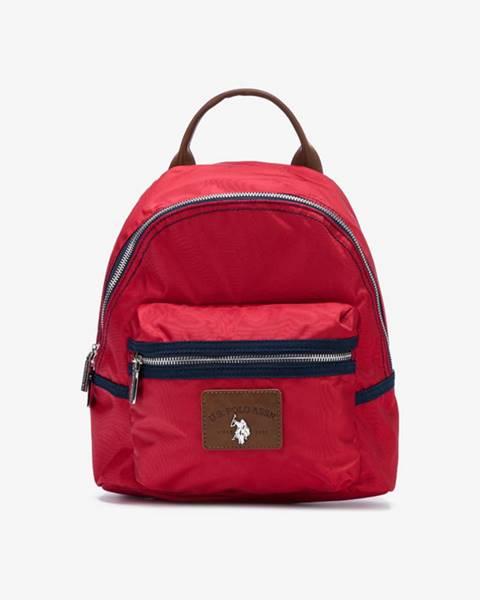 Červený batoh U.S. Polo Assn