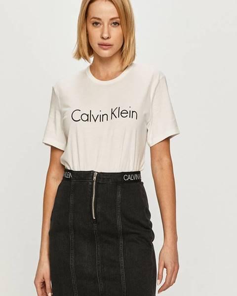 Bílý top calvin klein underwear