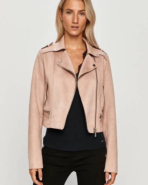 Růžová bunda Morgan
