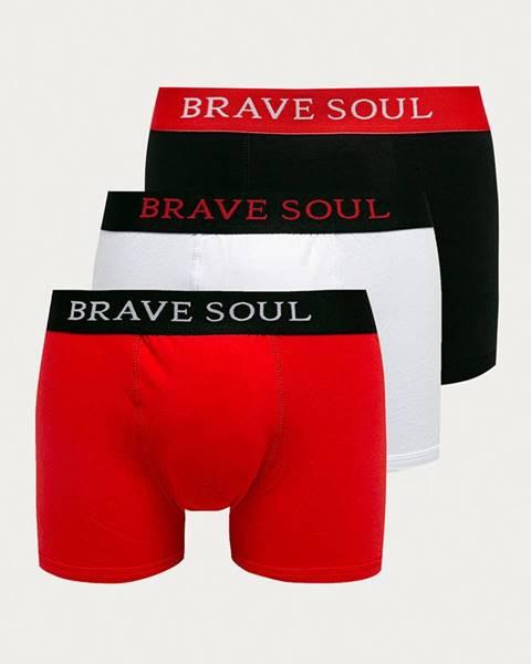 Červené spodní prádlo Brave Soul