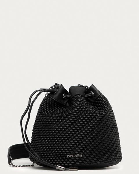 Černá kabelka pepe jeans