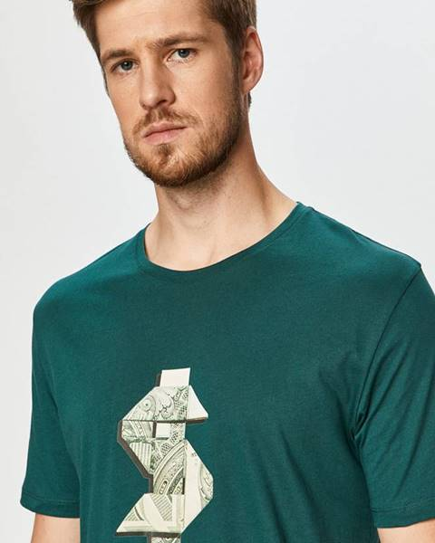 Zelené tričko John Frank
