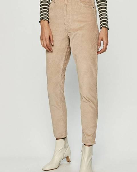Béžové kalhoty Dr. Denim