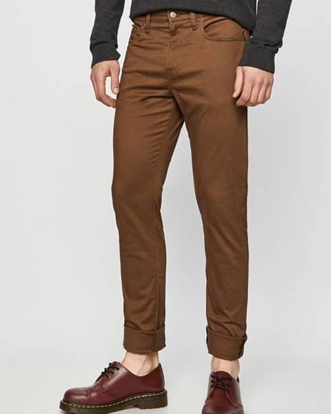 Hnědé kalhoty GAP