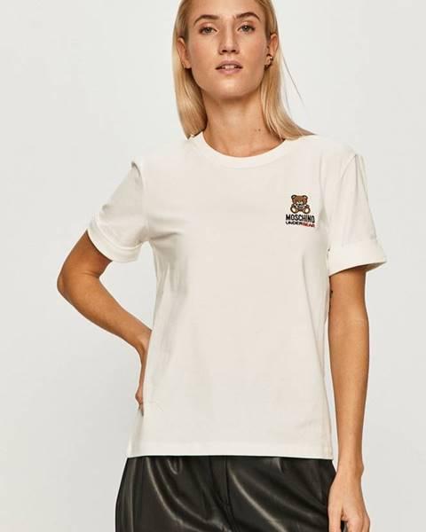 Bílý top Moschino Underwear