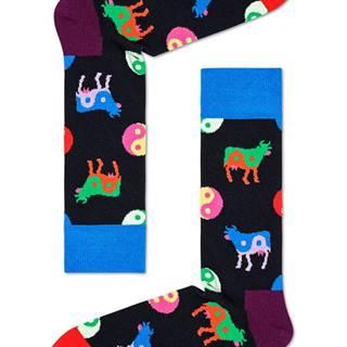 Happy Socks - Ponožky Ying Yang Cow