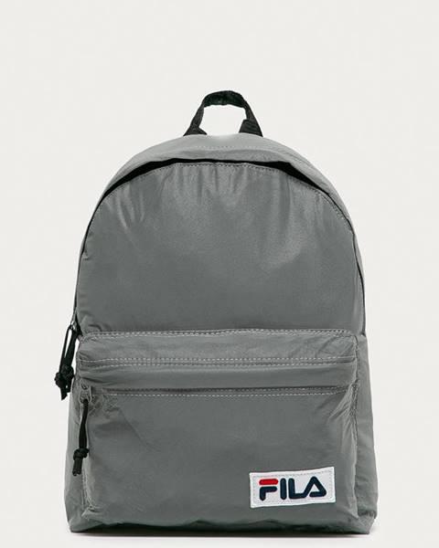 Stříbrný batoh fila