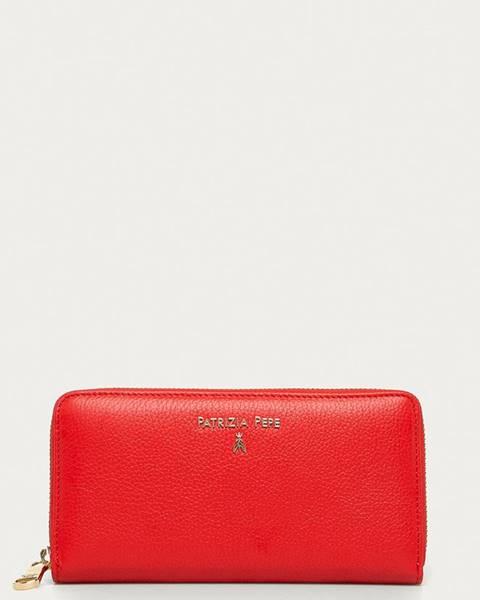 Červená peněženka Patrizia Pepe