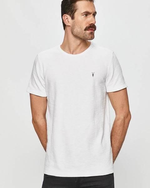 Bílé tričko AllSaints