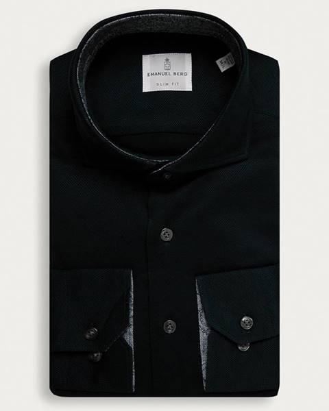 Černá košile Emanuel Berg