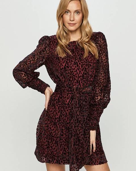 Fialové šaty Silvian Heach