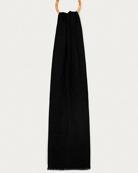 Černá šála Calvin Klein