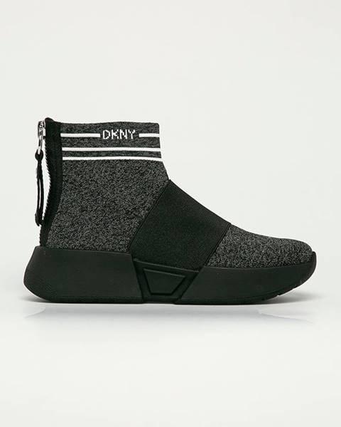 Černé boty dkny
