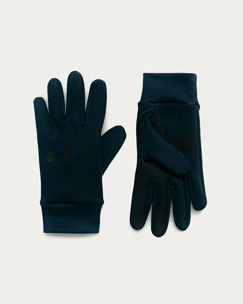 Modré rukavice under armour