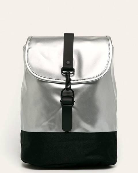 Stříbrný batoh Rains