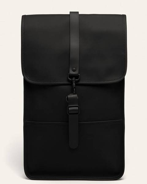 Černý batoh Rains