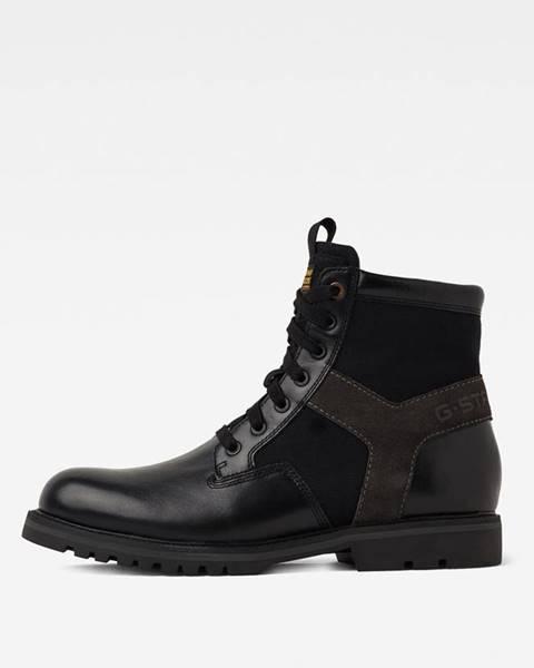 Černé boty G-Star RAW