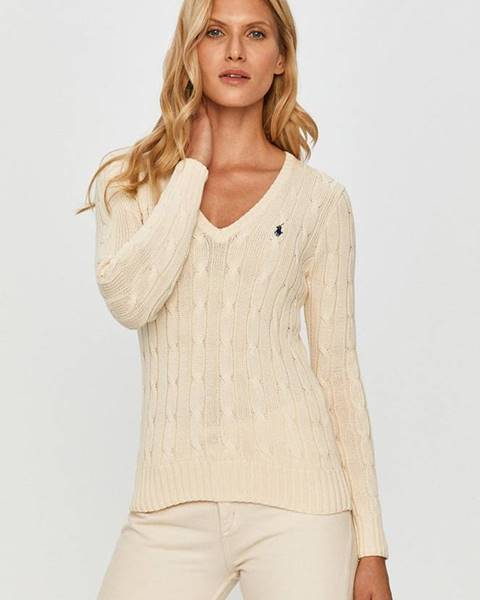 Béžový svetr Polo Ralph Lauren