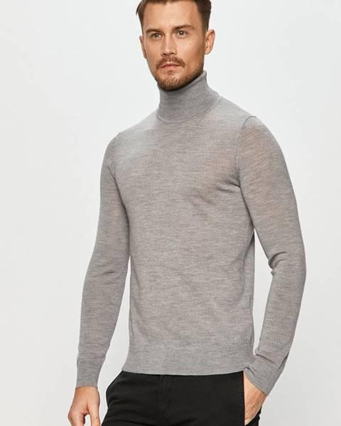 Šedý svetr HUGO