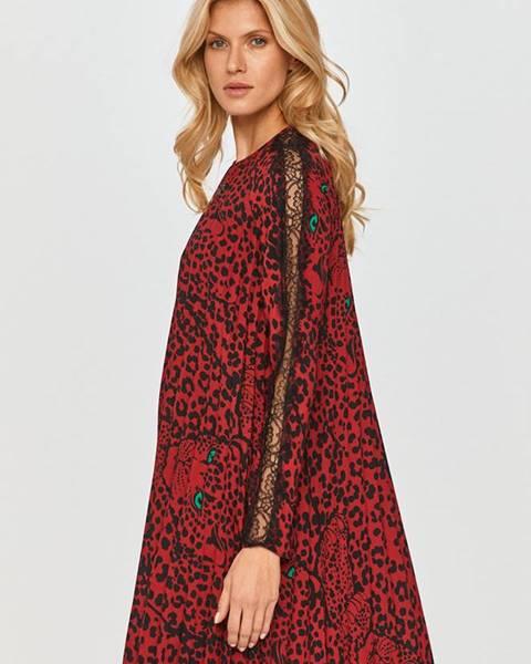 Červené šaty Red Valentino