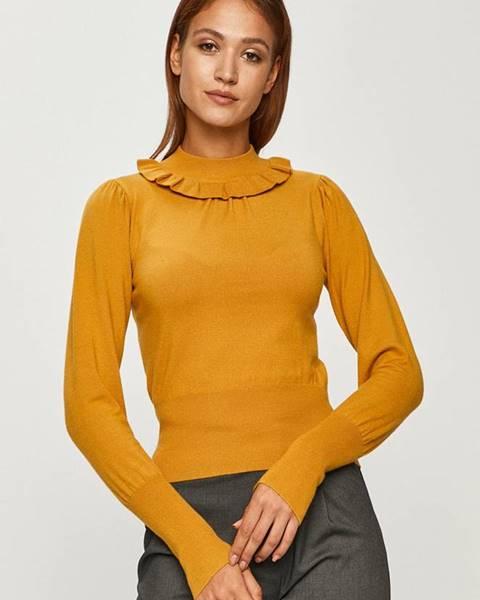 Žlutý svetr Silvian Heach