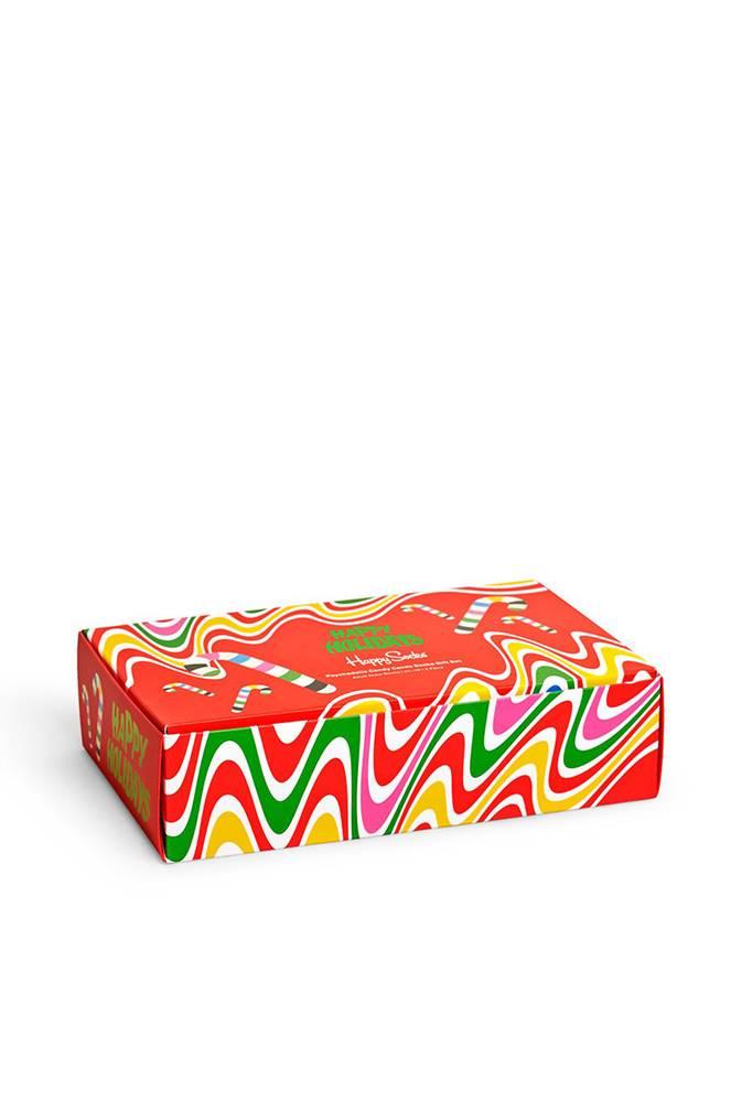 happy socks Happy Socks - Ponožky Psychedelic Candy Cane (4-pack)