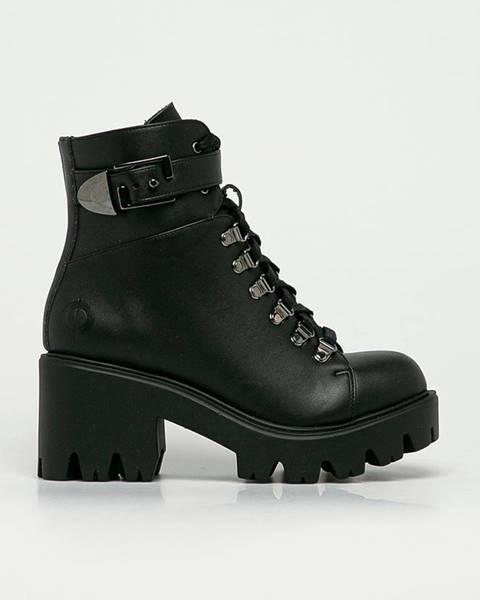 Černé boty Altercore