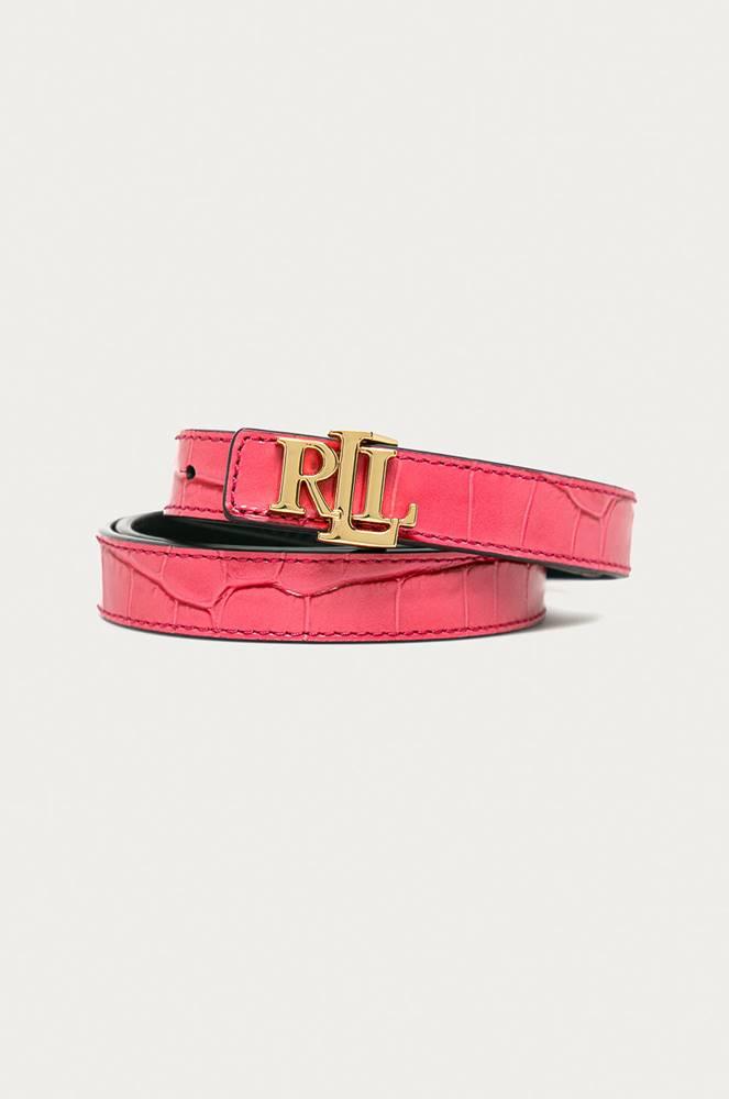 lauren ralph lauren Lauren Ralph Lauren - Oboustranný kožený pásek