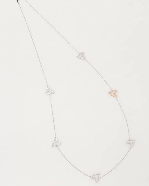 Stříbrný náhrdelník Calvin Klein