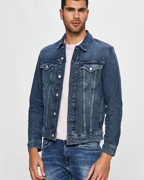 Modrá bunda calvin klein jeans