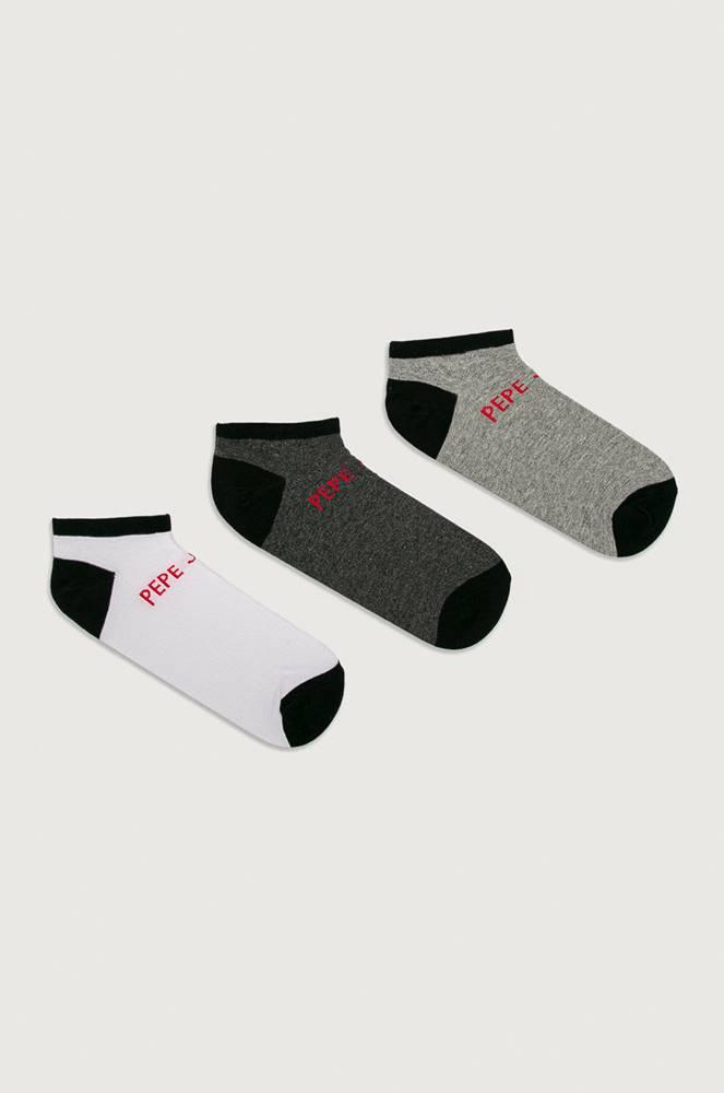 pepe jeans Pepe Jeans - Kotníkové ponožky Carr (3-pack)