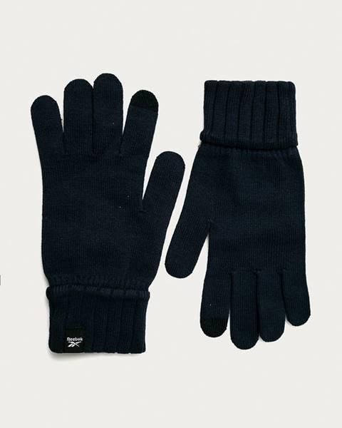 Modré rukavice reebok