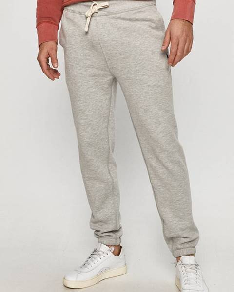 Šedé kalhoty Polo Ralph Lauren