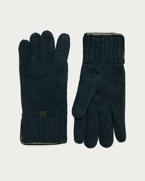 Modré rukavice Strellson