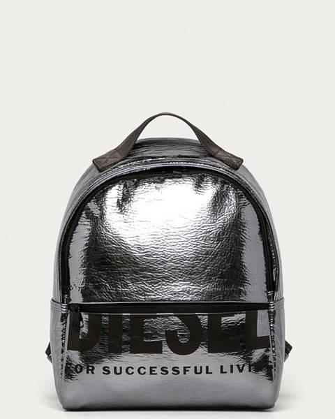 Stříbrný batoh Diesel