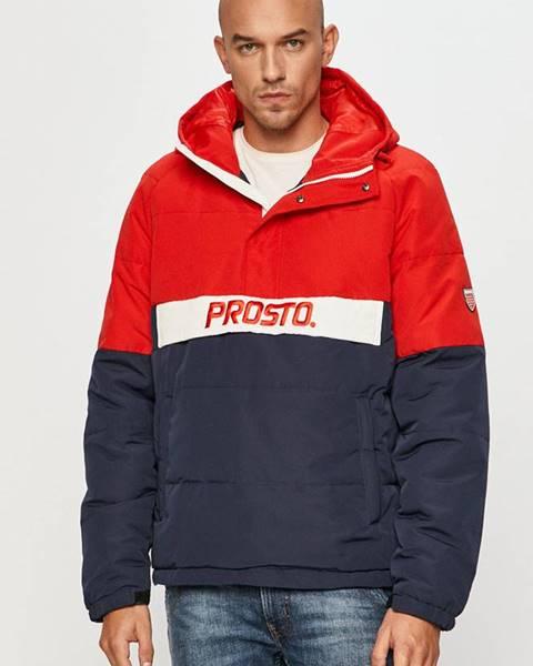 Červená bunda Prosto