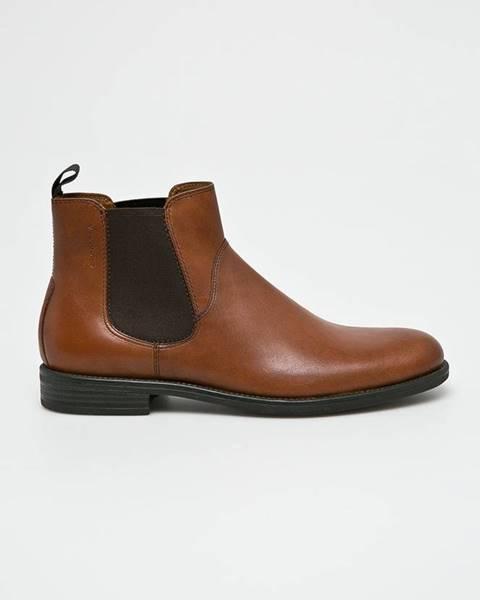Hnědé boty vagabond
