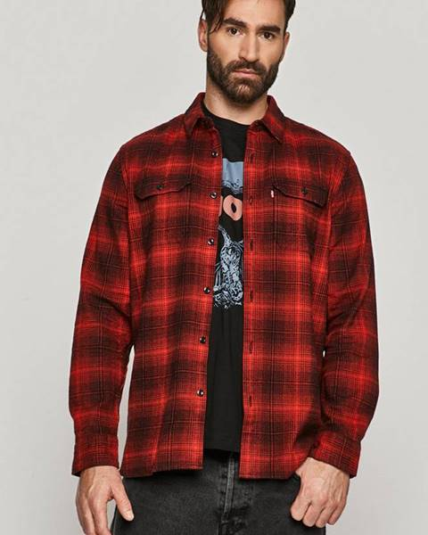 Červená košile Levi's