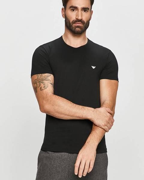 Vícebarevné tričko Emporio Armani