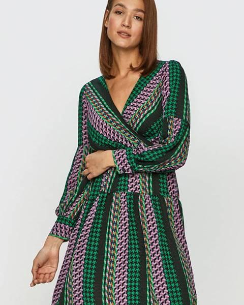 Vícebarevné šaty jacqueline de yong