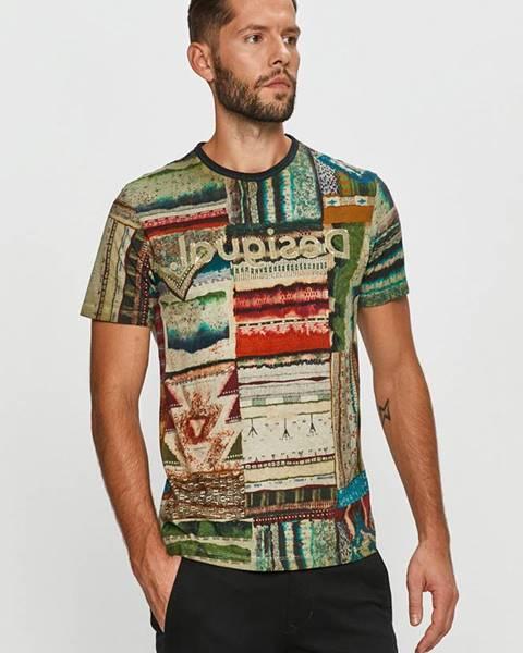 Vícebarevné tričko desigual