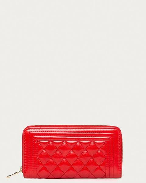 Červená peněženka Answear Lab