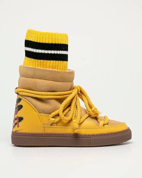 Žluté boty Inuikii