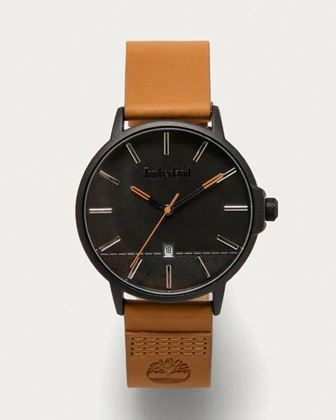 Hnědé hodinky Timberland